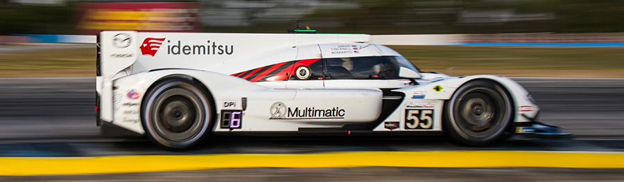 MAZDA MOTORSPORTS, SPONSORED BY IDEMITSU, FINISH AN IMPRESSIVE SECOND AT SEBRING