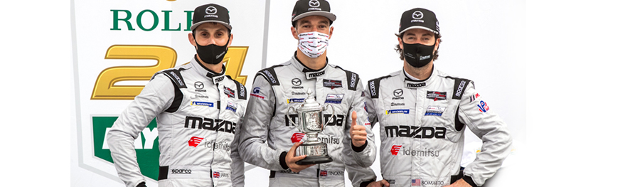 Idemitsu Congratulates Mazda Motorsports USA on a Spectacular Finish in the Rolex 24 at Daytona