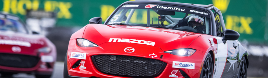 Idemitsu Lubricants America Expands Partnership with Mazda Motorsports USA - Supports MX-5 Cup