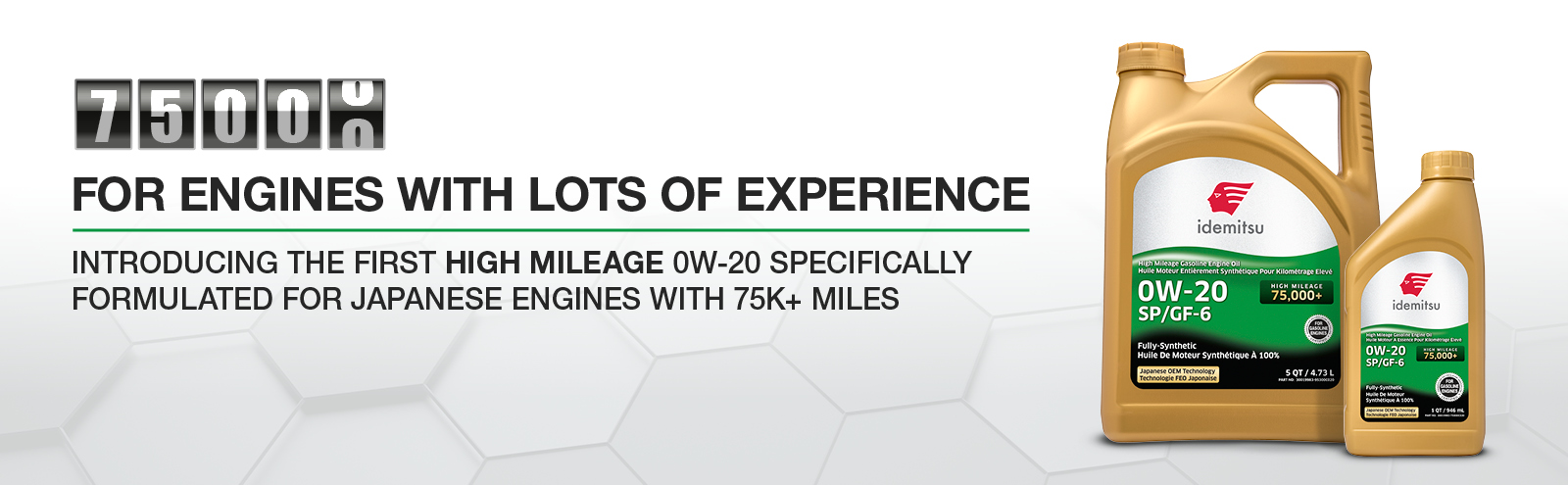 Engines with lots of experience